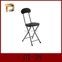 DT-39 Hot sale Cheap wooden foldable chair/wholesale black folding chair