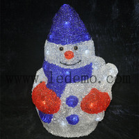 2015 new Outdoor xmas decorative led snowman modelling lights
