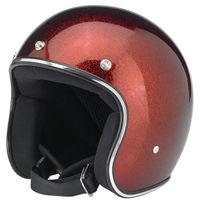 high quality fashionable reddish brown german motorcycle helmet