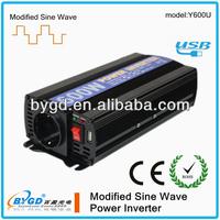 600W DC-AC modified power inverter,power converter 12v 230v