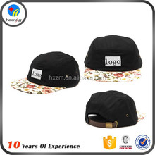 different cotton 5 panel hat supplier