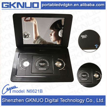 large screen portable dvd player with TV tuner game function 15.1 inch tft LED 4:3 screen portable TV with 3D player