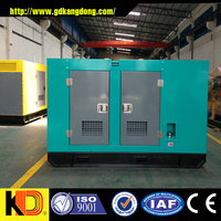 30kw Silent Type Diesel Generator, Low Noise, 0.8 Lag, Frequency 50HZ, Brushless Alternator