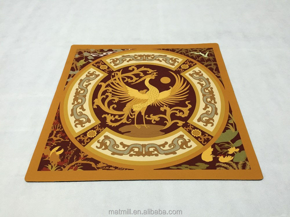 Good Quality Custom Natural Rubber Velvet Cloth Decorative Floor Mat Big Floor Mat