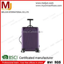 Classic Purple PC Luggage for Fashiopn Lady