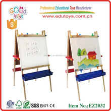 Office & School big kids easel magnetic whiteboard stand All-In-One adjustable wooden art easel