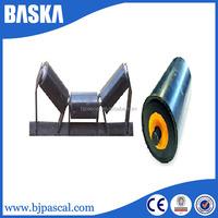 Standard or customized belt conveyor steel transition roller idler