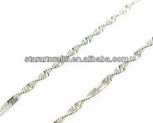 sn069 novo design aço inoxidável rolo de cobra colares