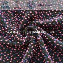 Wool Jacqaurd Fabric, Knitted woolen pile, woolen fabric