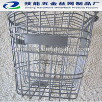 new metal /ss 304 bike basket /electric bicycle basket for china of anping factory