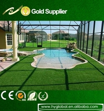 Cheapest 40mm height 12000D synthetic artificial grass for landscape
