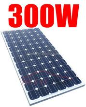 Monocrystalline Silicon Material 300 watt solar panel price