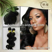 Wholesale in stock body wave remy wet and wavy indian remy hair weave