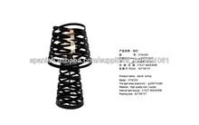 círculo negro diseño lámpara de escritorio/mesa de la cocina lámparas