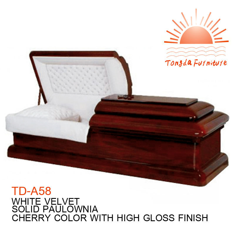 Td a58 american style funeral solid wood casket for sale for Html td style