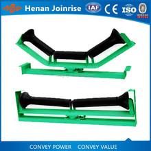 Belt conveyor friction idler roller used for preventing deviation