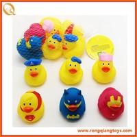 hot sell 6CM cute rubber bath duck toys AN671132816