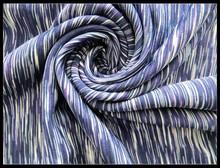 Space dye poly spandex fabric /heather fabric /poly circular fabric