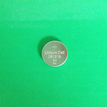 Hot sell 3.0V lithium button cell cr1216 cr1820 battery
