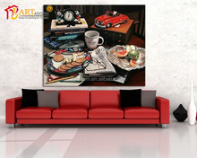 Beautiful toys painting large size wall art