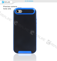 PC+TPU combo case cover for iphone 5 for iphone 5s phone case
