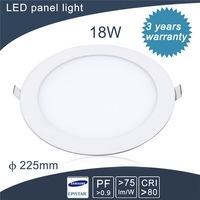 lowest price 9w 6inches round led panel light for meeting room/home