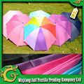Protector solar resistente al agua 63 * 63 210 poliéster taffeta sol de la tela del paraguas