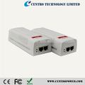 10/100 / 1000M IEEE802.3at (30W) 48v poe injector poder sobre gigabit ethernet poe injector 220V