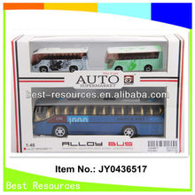 Nuevo 2013& hotsale pull back diecast autobús