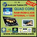 "Tablet Android 4 pantalla 10.1"" capacitiva multitouch QUAD CORE RAM 2GB+13GB CPU ARM Cortex A7 Allwinner A31 wifi XVID MKV"