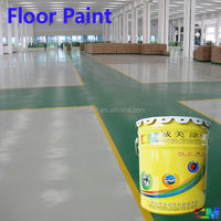 Color sand concrete epoxy factory industrial floor coating