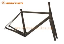 2015 Workswell Super light road frame carbon,carbon road bike frameset; ud matt carbon frame road bike