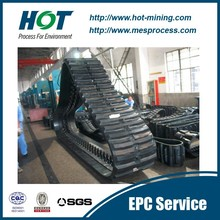 Multifunctional construction machinery rubber crawler