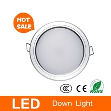 High lumen 110 120mm cut out led downlight surrounds intumescent