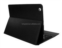 hot sale! bluetooth leather case with wireless keyboard for ipad