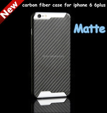 Hardness 100% Real Pure Material for iPhone 6 Plus Carbon Fiber Cases