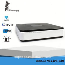 P2P mini Onvif H.264 Smarthome NVR network surveillance home 4ch NVR p2p ip camera software