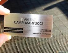 2015 design laser brand Metal Business company card
