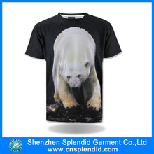 Cheap wholesale high quality 3D T-shirt printing in China