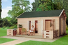 SY-G052 small wood garden kit huts