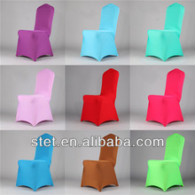 Wholesale high quality round lycra cheap spandex chair cover banquet chair cover wedding decoration