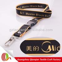 Customized design safety breakaway neck strap