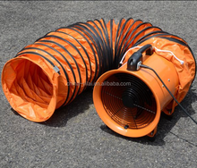 good quality ventilation portable ventilation fan with 5m hose from China, explosion-proof portable ventilator