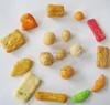 Yummy/Crispy mix snacks 50% Rice crackers and 50% coated peanuts mix