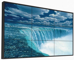 47 Inch DID LCD Video Wall with 5.7mm Ultra Narrow Bezel LED Backlight For Advertising Display in Shopping Mall/Exhibition