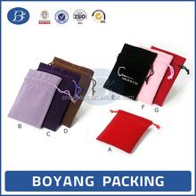 OEM/ODE factory custom velvet jewelry bag