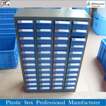 plastic drawer for warehouse parts storage system