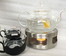 Stainless Steel Candle Warmer Base for Teapot