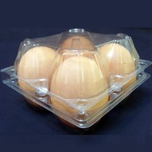 Blister egg tray,blister egg package,plastic egg box for 4 pcs eggs