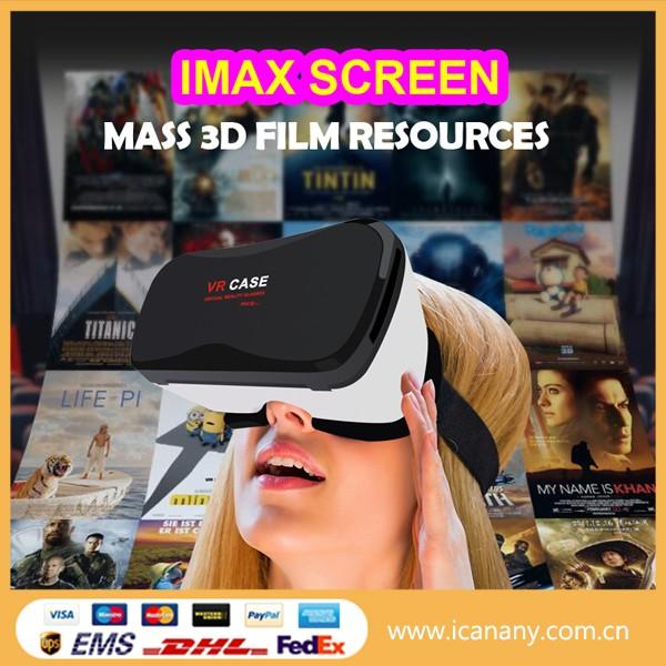 6.3 인치 미니 포켓 접이식 구글 cardboad 3d 안경 가상 현실 VR 케이스 5 플러스